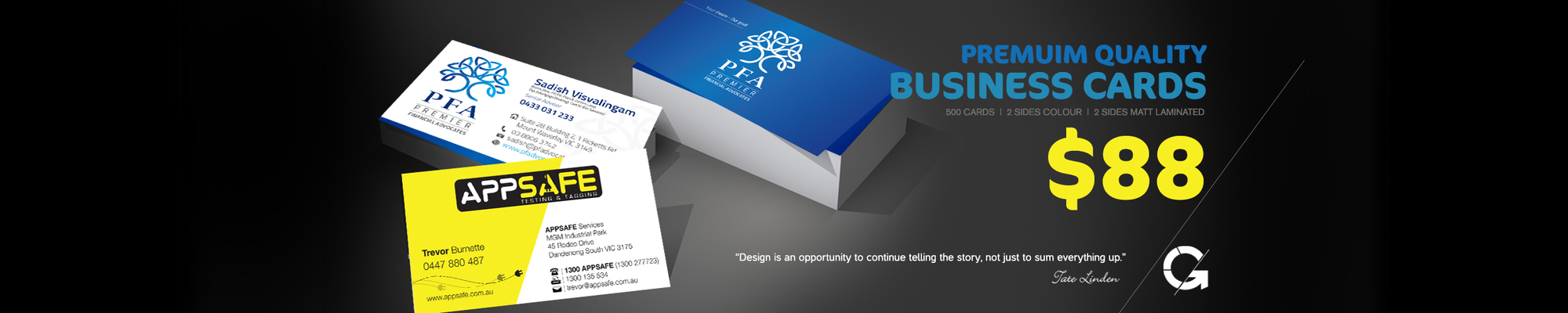 Business cards banner 001