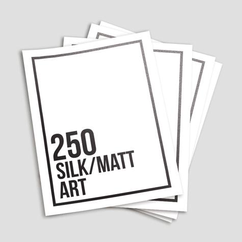250gsm Silk/Matt Art