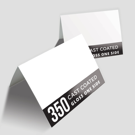 350 Cast Coated Artboard Gloss One Side