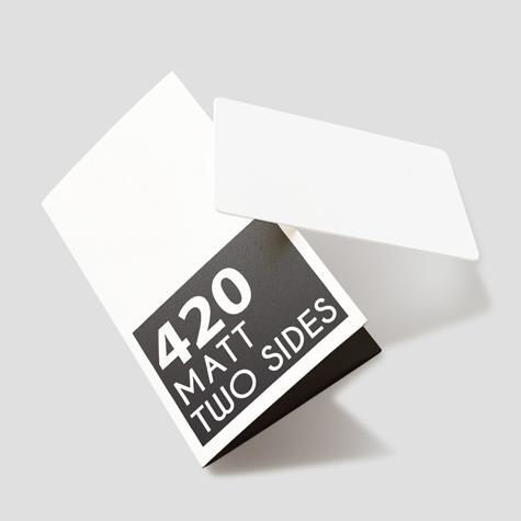 420gsm Matt Two Sides