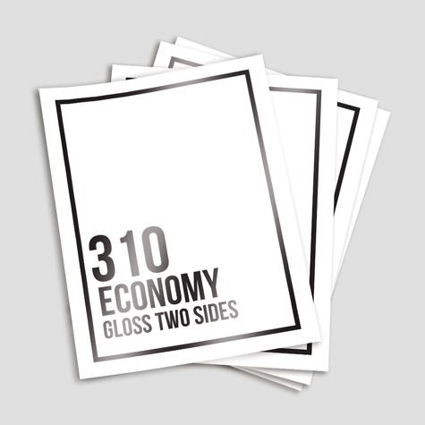 Economy 310 Gloss Two Sides